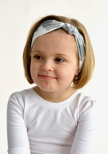 Headband CAMOUFLAGE grey