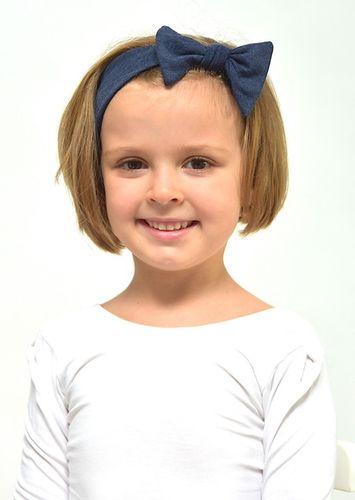 Headband JEANS dark blue