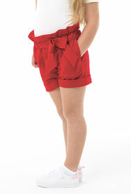 Shorts HIGH RISE red