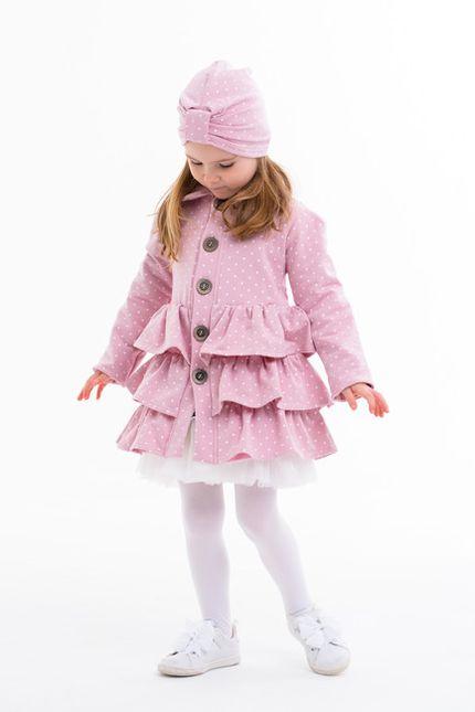 Frilled coat™ pink