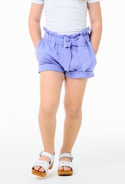Shorts HIGH RISE cornflower