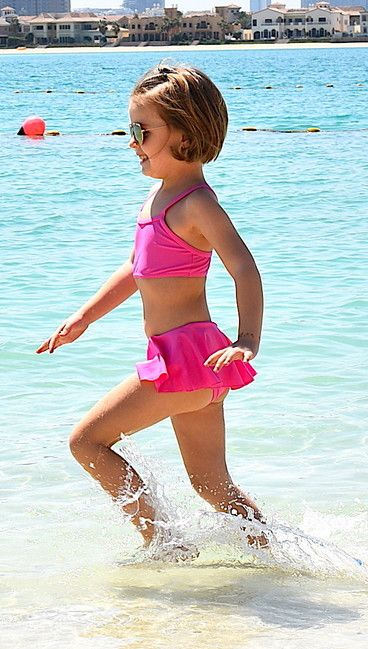 Swimsuit ZUPPA neon pink