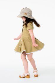 Dress RETRO linen sandy