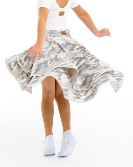 Skirtshorts™ CANCAN camou